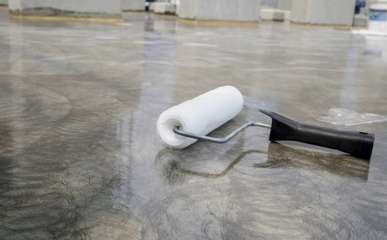 Image of our concrete polishing and sealing service