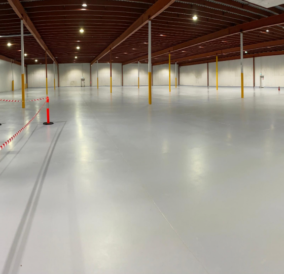Image of our epoxy floor coatings service in Melbourne