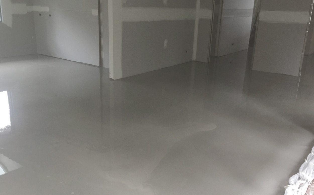 Floor Levelling finished result